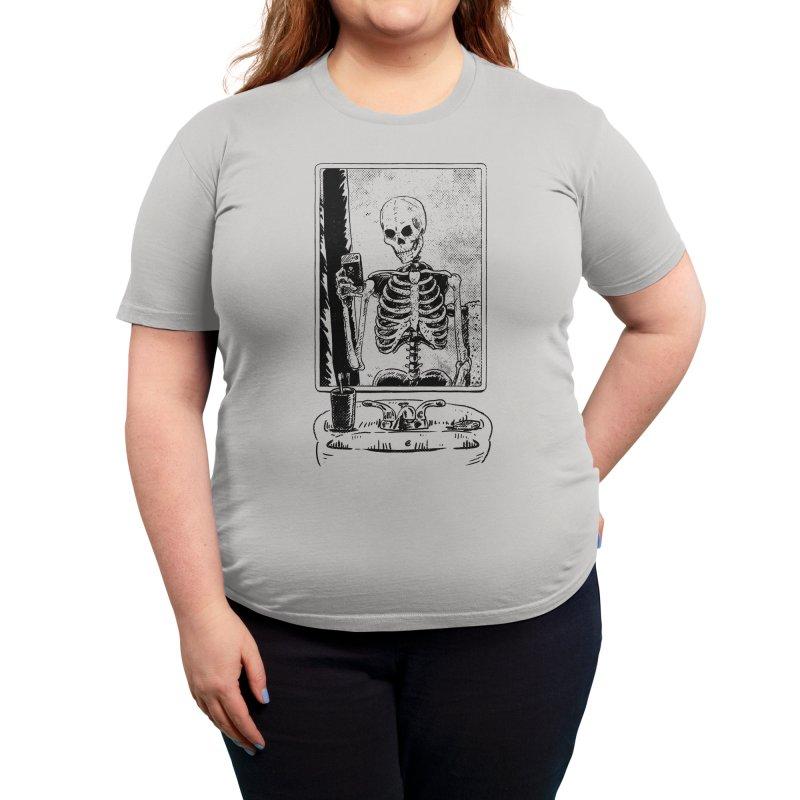 SKELFIE Women's T-Shirt by Threadless Artist Shop