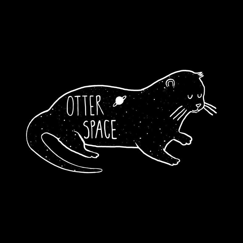Otter Space Men's T-Shirt by Threadless Artist Shop