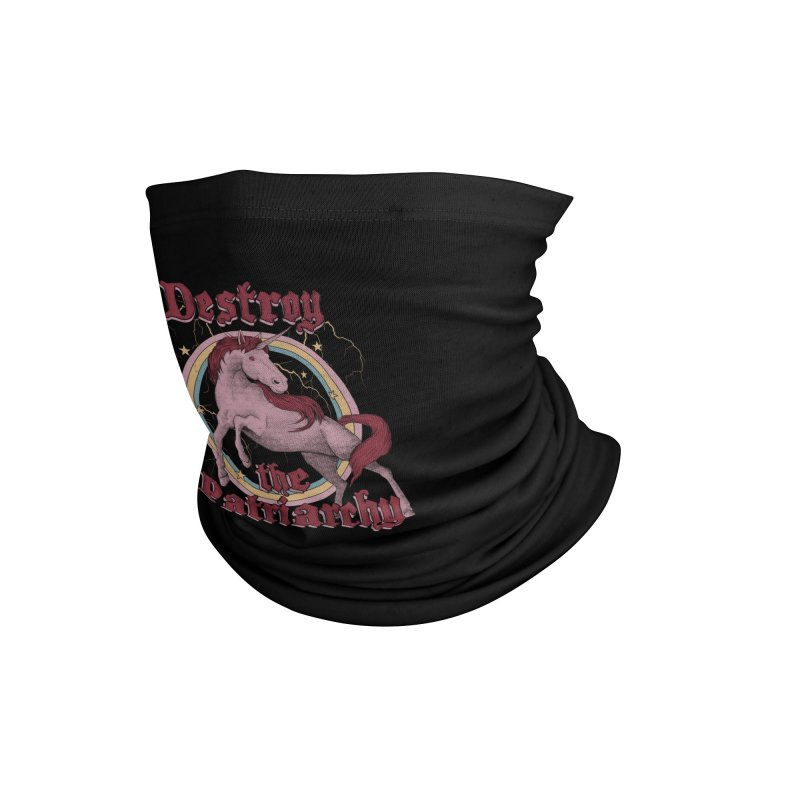 Destroy the Patriarchy Accessories Neck Gaiter by Threadless Artist Shop
