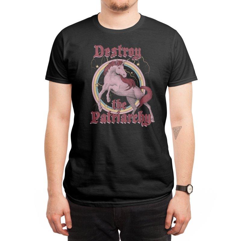 Destroy the Patriarchy Men's T-Shirt by Threadless Artist Shop