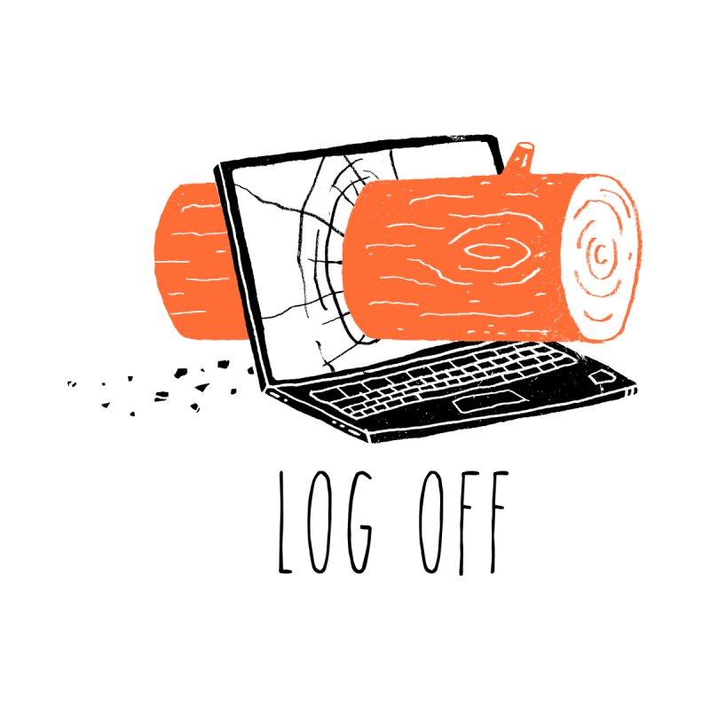 Log Off Men's T-Shirt by Threadless Artist Shop