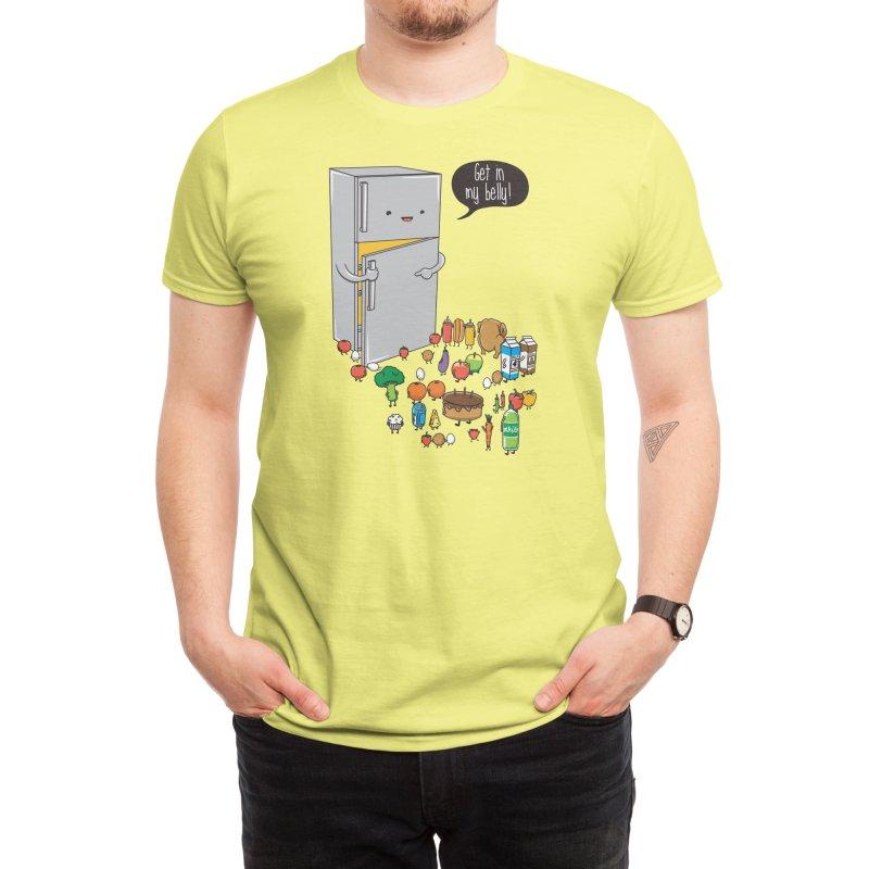Get in my belly Men's T-Shirt by Threadless Artist Shop