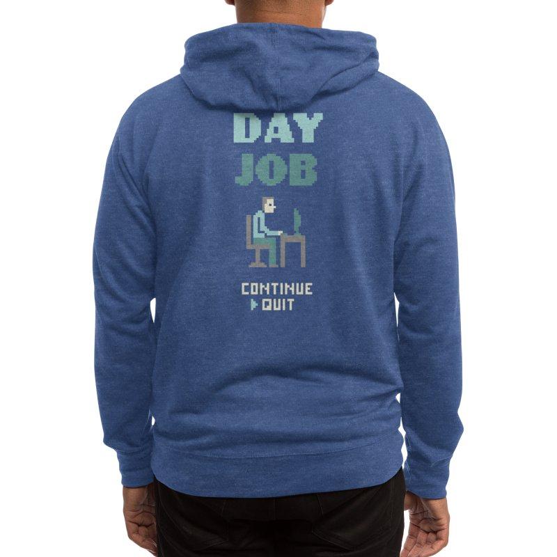 Day Job Men's Zip-Up Hoody by Threadless Artist Shop