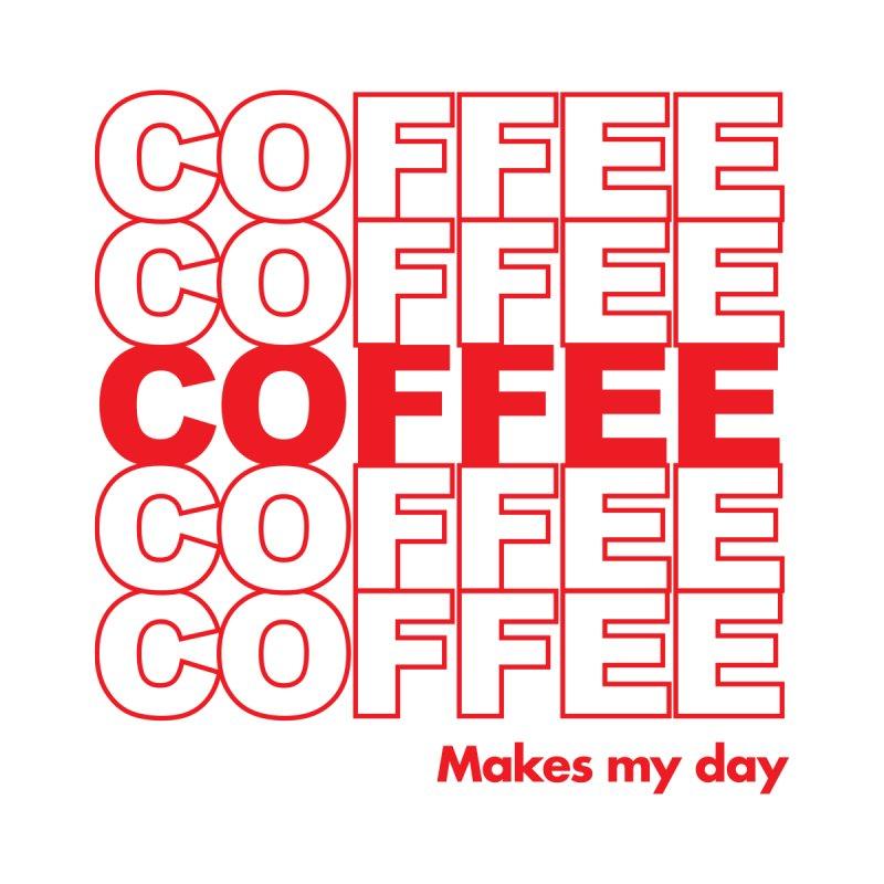 Coffee Makes My Day Men's T-Shirt by Threadless Artist Shop
