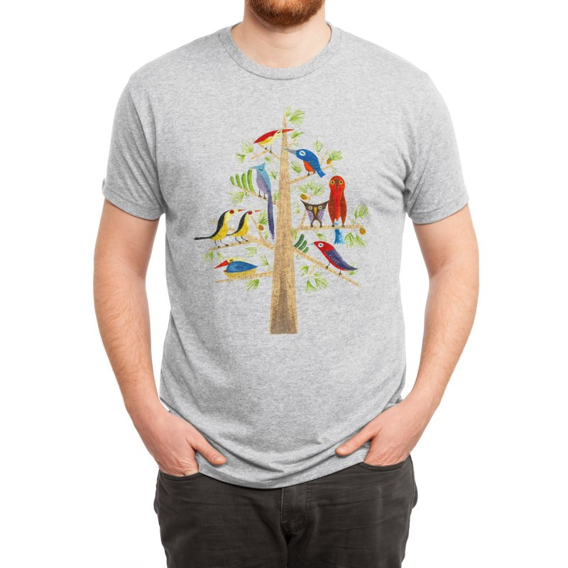 The Perch Party Men's T-Shirt by Threadless Artist Shop