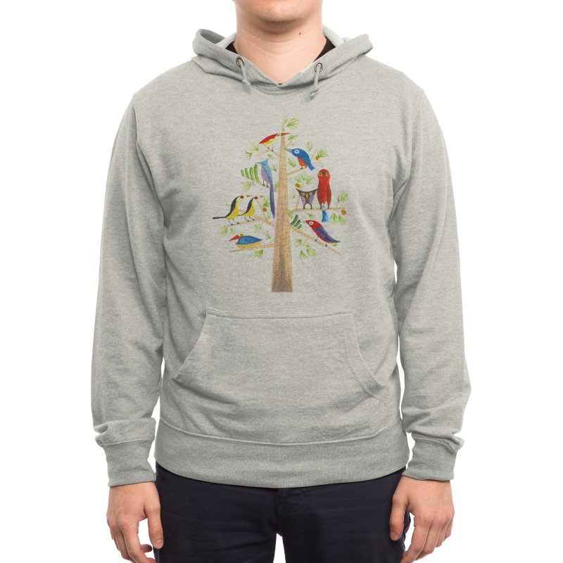 The Perch Party Men's Pullover Hoody by Threadless Artist Shop