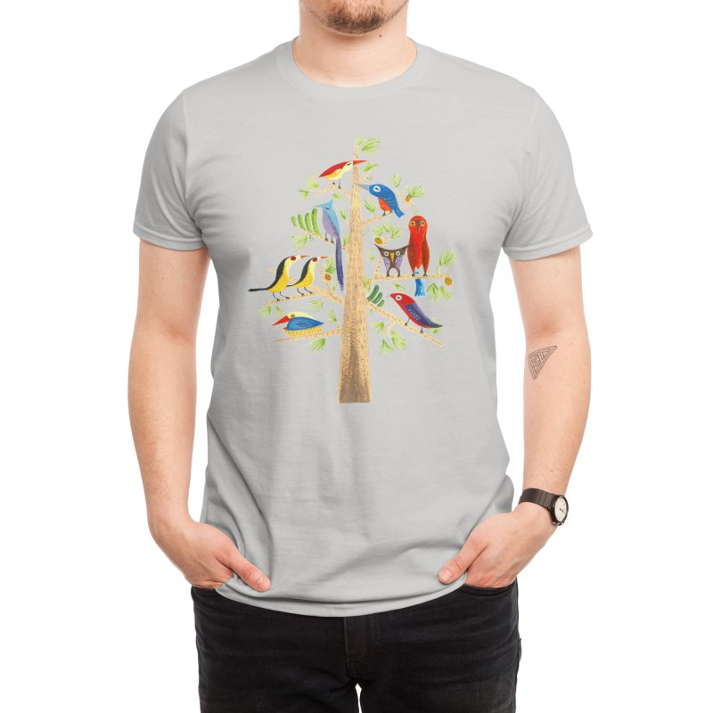 The Perch Party Men's T-Shirt by Threadless Artist Shop