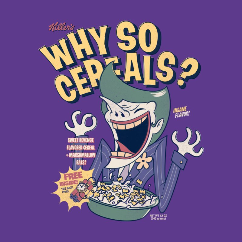 Why So Cereals? Women's T-Shirt by Threadless Artist Shop