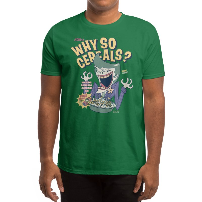 Why So Cereals? Men's T-Shirt by Threadless Artist Shop