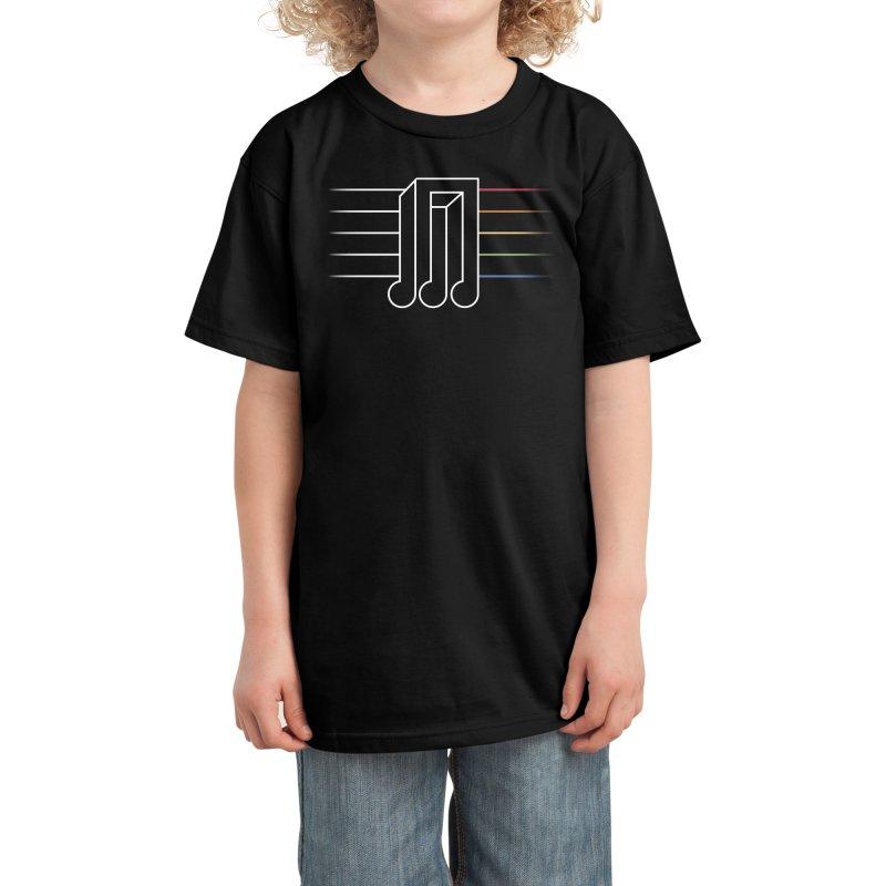 Transition Kids T-Shirt by Threadless Artist Shop