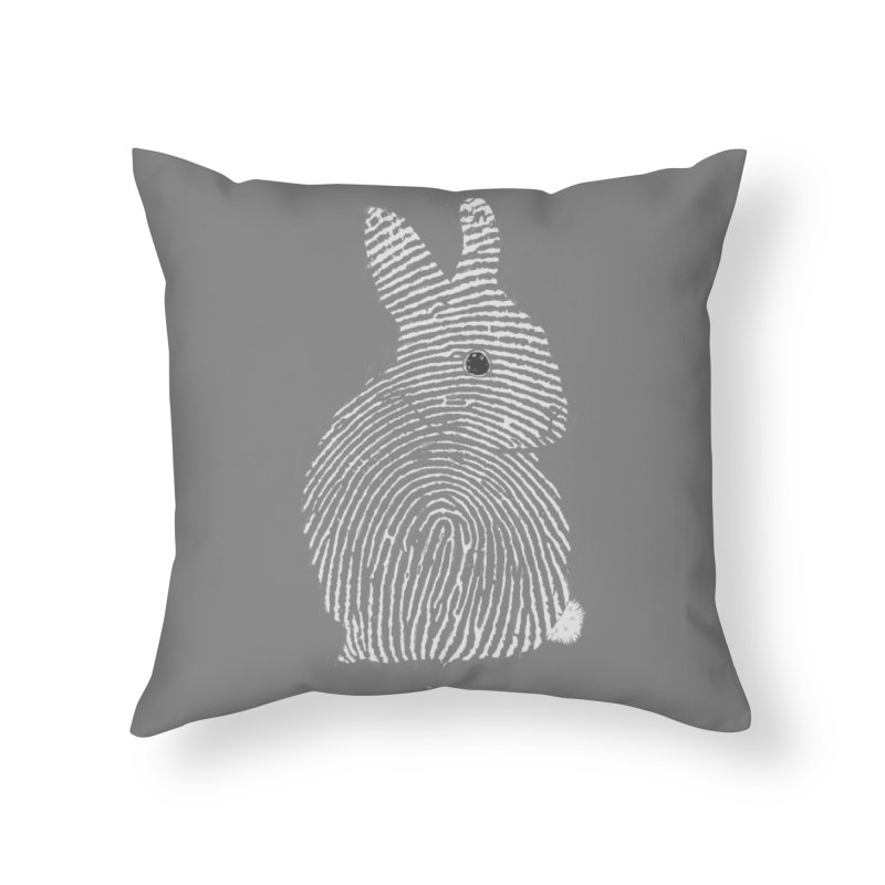 Thumbper Home Throw Pillow by Threadless Artist Shop