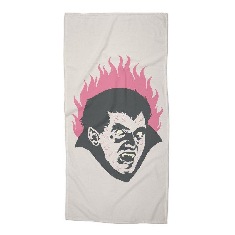 Vampire! Accessories Beach Towel by Threadless Artist Shop