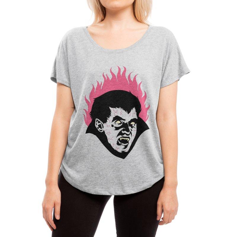 Vampire! Women's Scoop Neck by Threadless Artist Shop