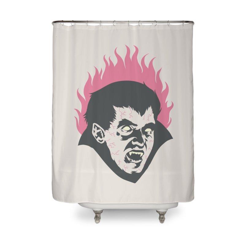 Vampire! Home Shower Curtain by Threadless Artist Shop
