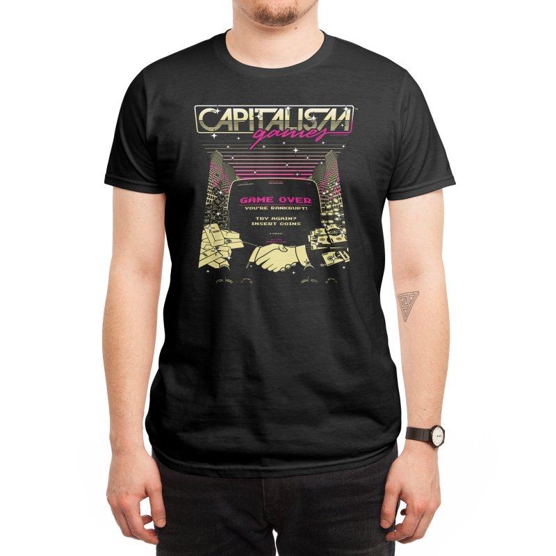 Capitalism Games Men's T-Shirt by Threadless Artist Shop