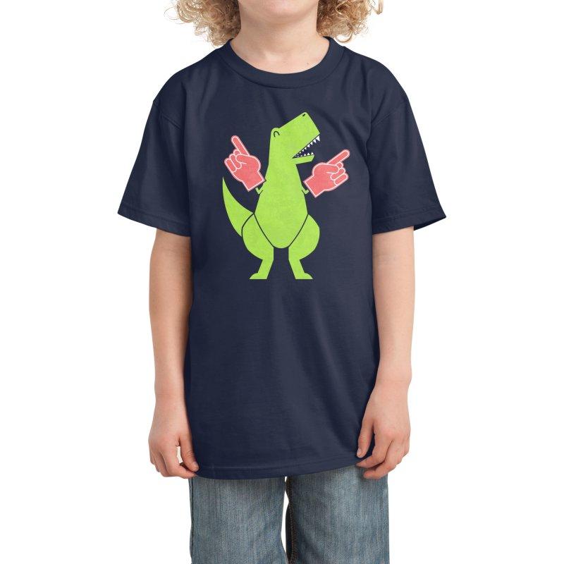 Yay! Big Hands! Kids T-Shirt by Threadless Artist Shop