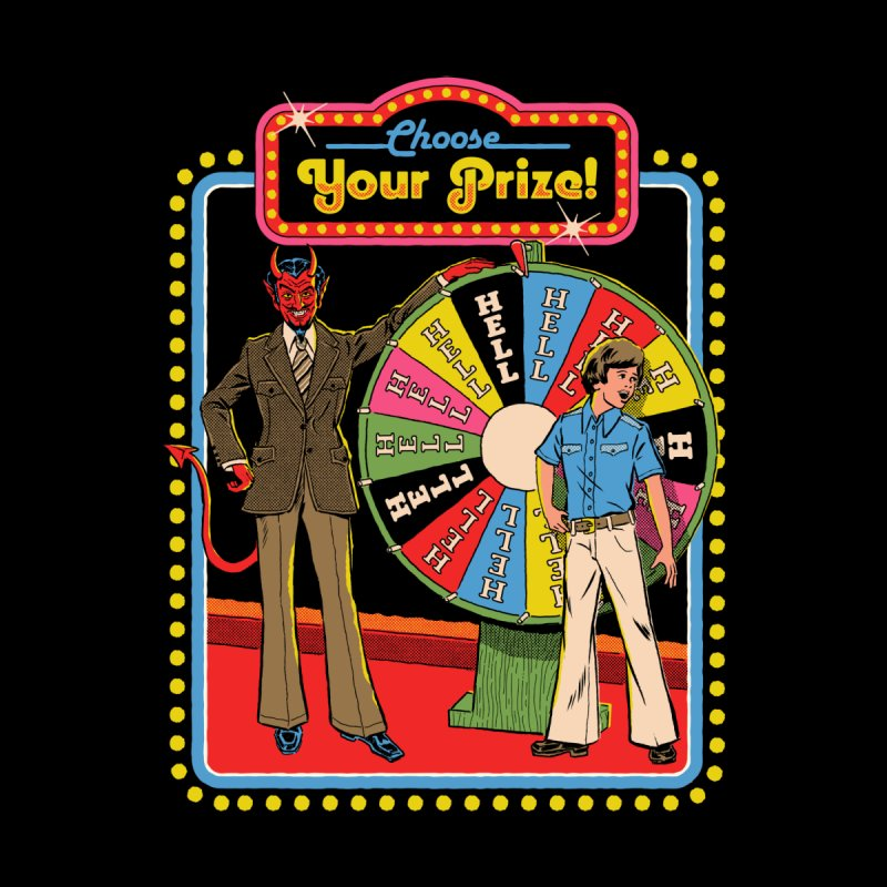 Choose Your Prize! Men's T-Shirt by Threadless Artist Shop