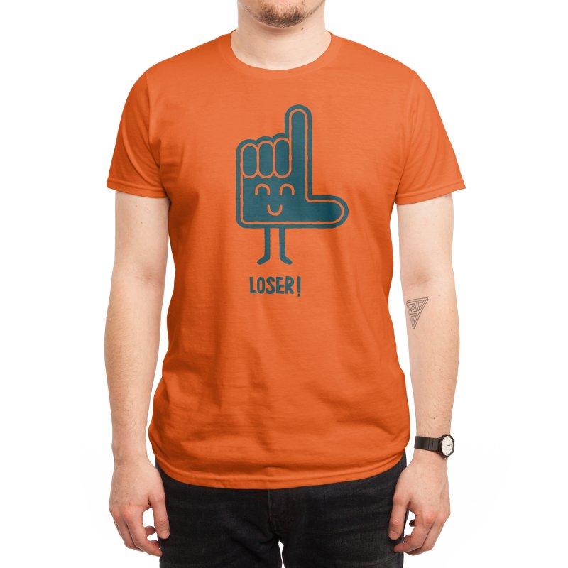 Loser! Men's T-Shirt by Threadless Artist Shop