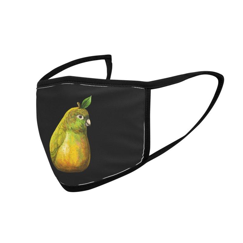 Bartlett Pearrot Accessories Face Mask by Threadless Artist Shop