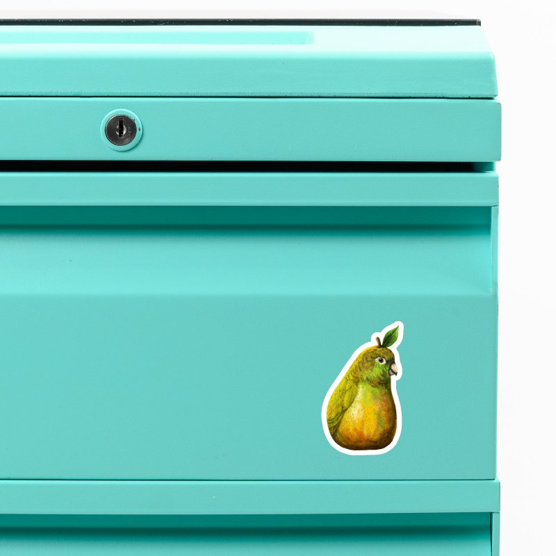 Bartlett Pearrot Accessories Magnet by Threadless Artist Shop
