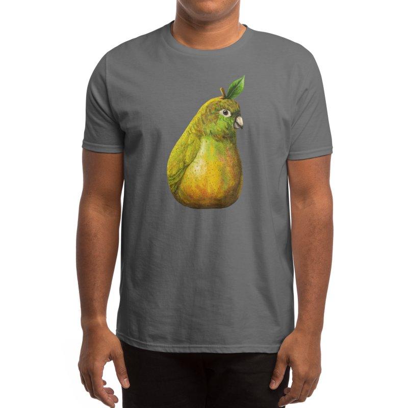 Bartlett Pearrot Men's T-Shirt by Threadless Artist Shop