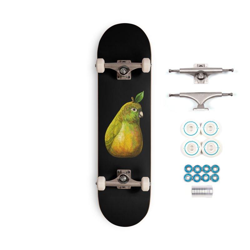 Bartlett Pearrot Accessories Skateboard by Threadless Artist Shop