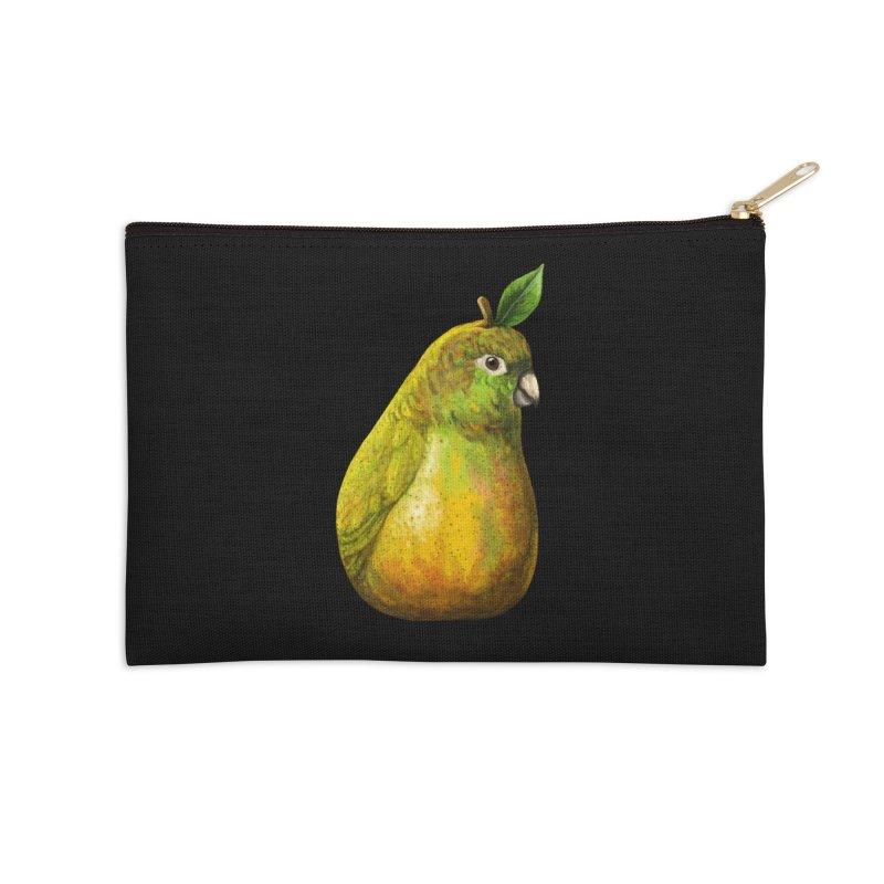 Bartlett Pearrot Accessories Zip Pouch by Threadless Artist Shop