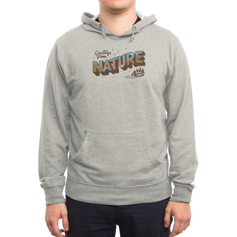 Nature Greetings Men's Pullover Hoody by Threadless Artist Shop