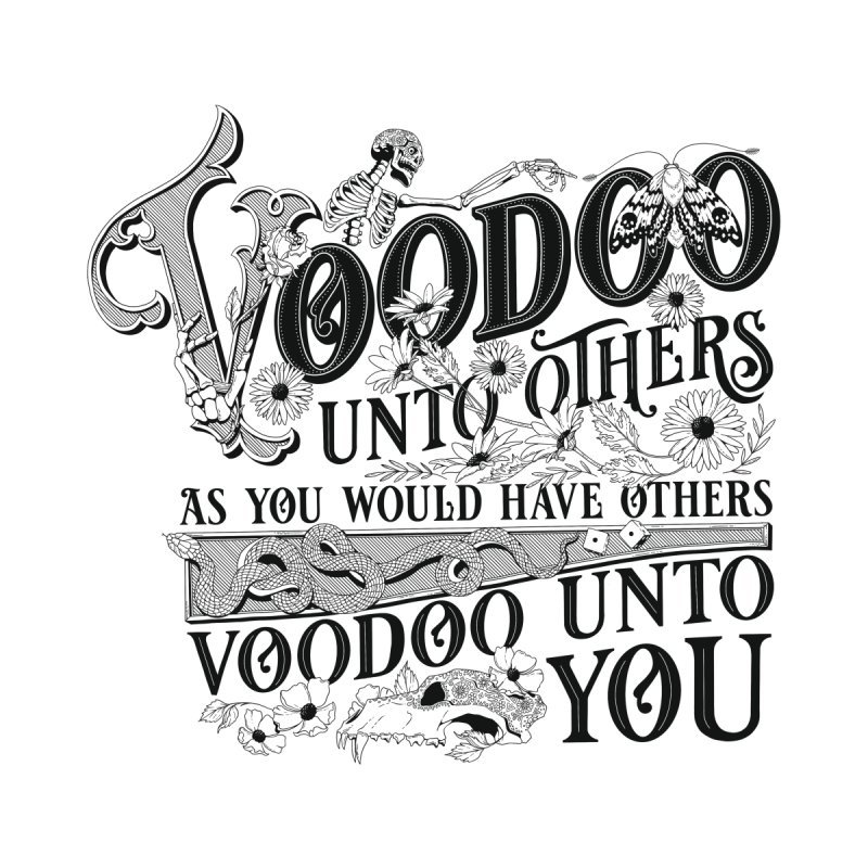 Voodoo Unto Others Men's T-Shirt by Threadless Artist Shop