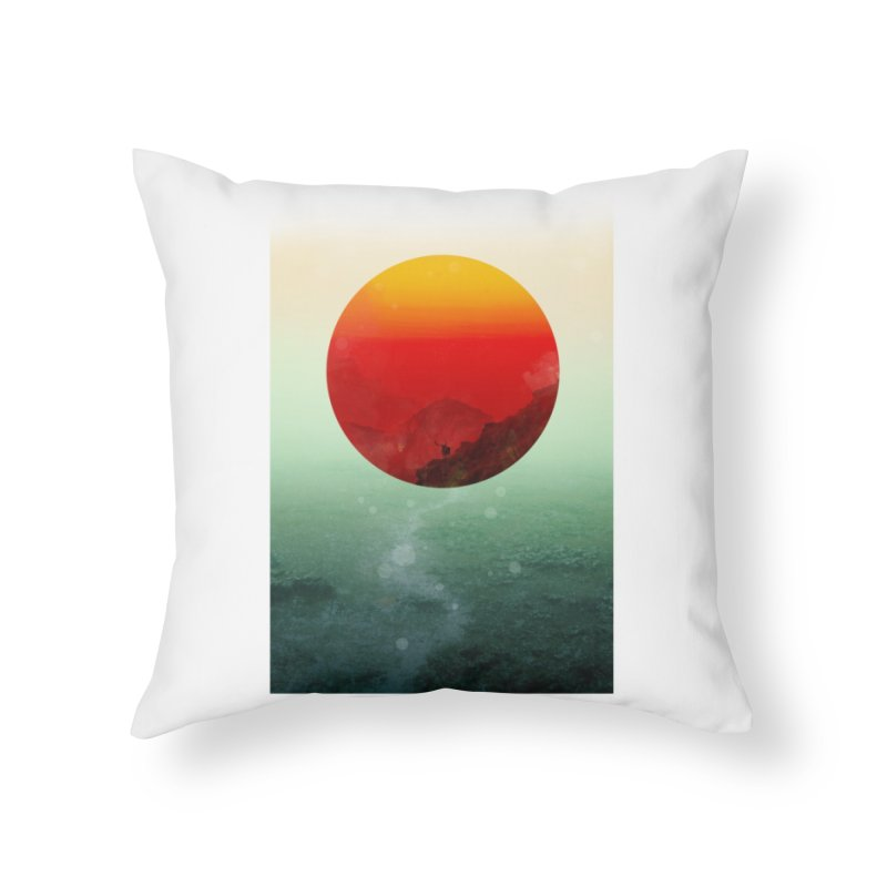 In the End the Sun Rises Home Throw Pillow by Threadless Artist Shop