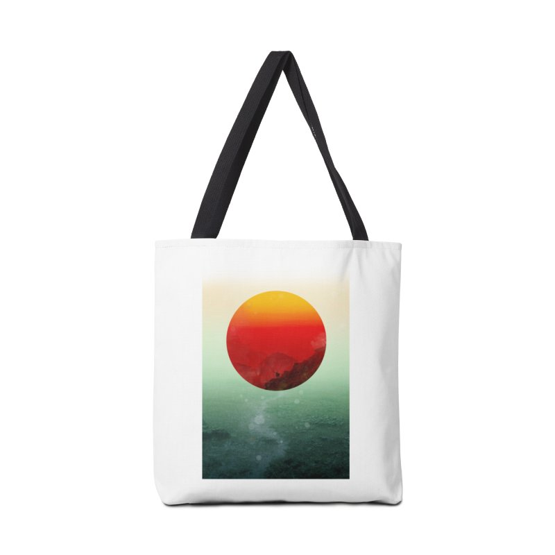 In the End the Sun Rises Accessories Bag by Threadless Artist Shop
