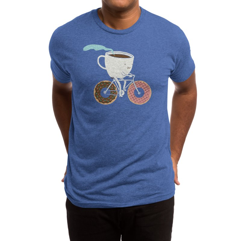 Coffee and Donuts Men's T-Shirt by Threadless Artist Shop