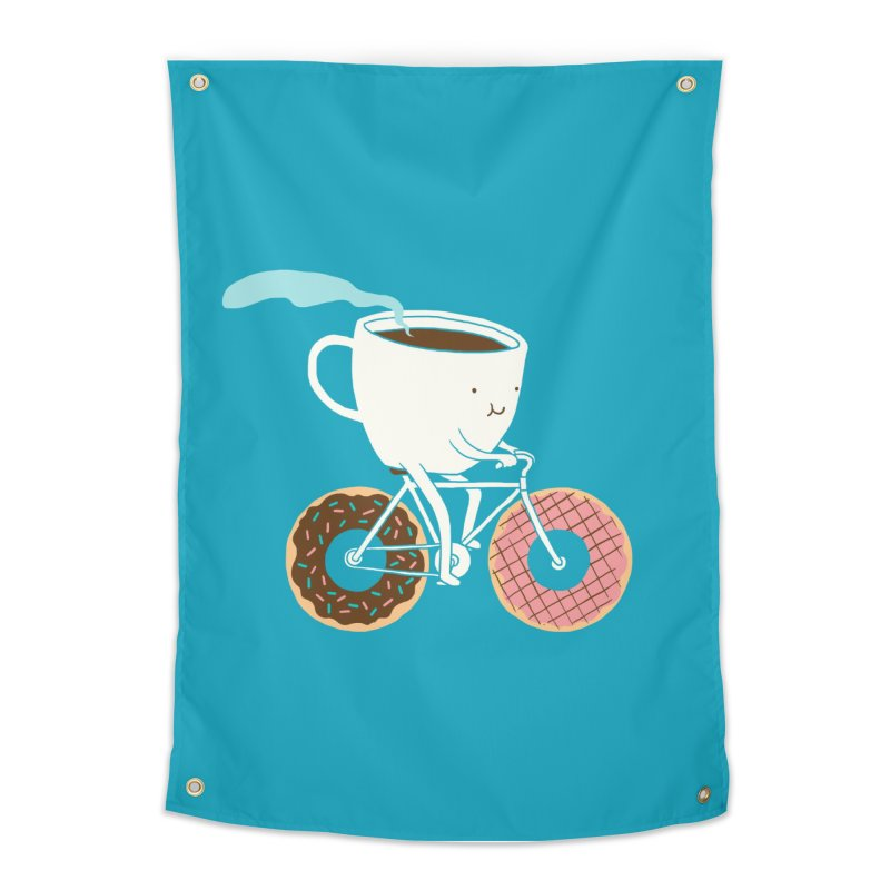 Coffee and Donuts Home Tapestry by Threadless Artist Shop