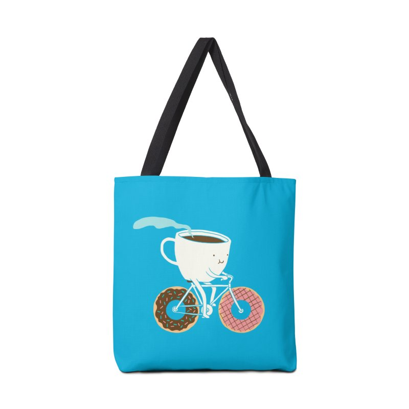 Coffee and Donuts Accessories Bag by Threadless Artist Shop