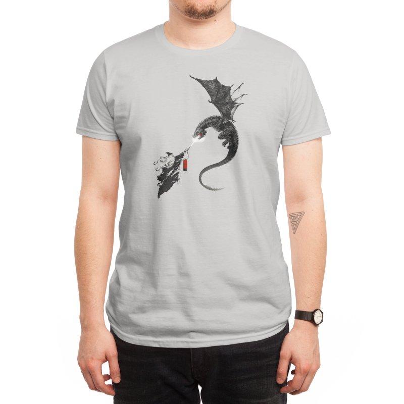 Fight Fire with Fire Men's T-Shirt by Threadless Artist Shop