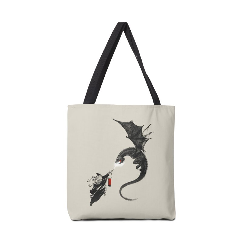 Fight Fire with Fire Accessories Bag by Threadless Artist Shop