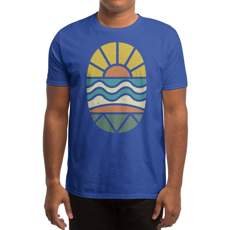 Let's Go Surfing Men's T-Shirt by Threadless Artist Shop