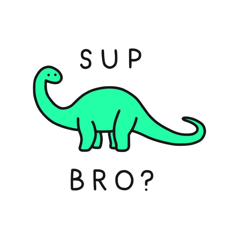 Sup Brontosaurus? Kids T-Shirt by Threadless Artist Shop