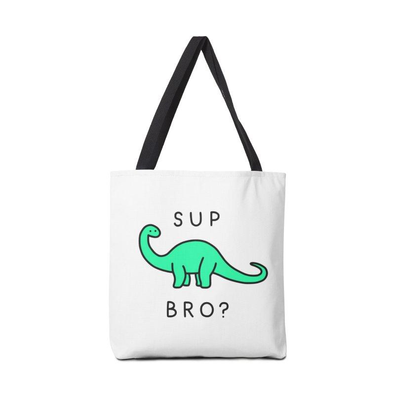 Sup Brontosaurus? Accessories Bag by Threadless Artist Shop