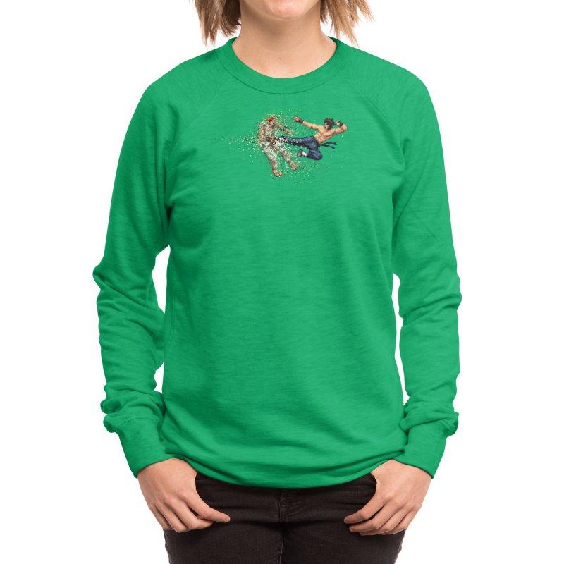 Dead Pixels Women's Sweatshirt by Threadless Artist Shop