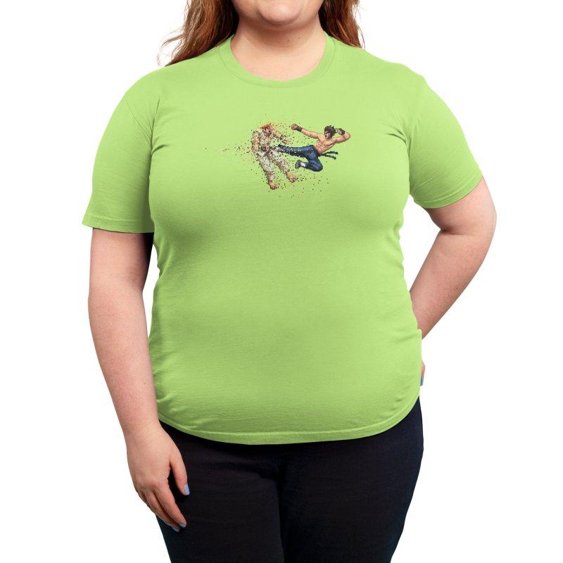 Dead Pixels Women's T-Shirt by Threadless Artist Shop