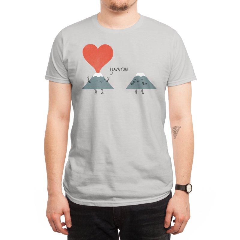 I Lava You Men's T-Shirt by Threadless Artist Shop