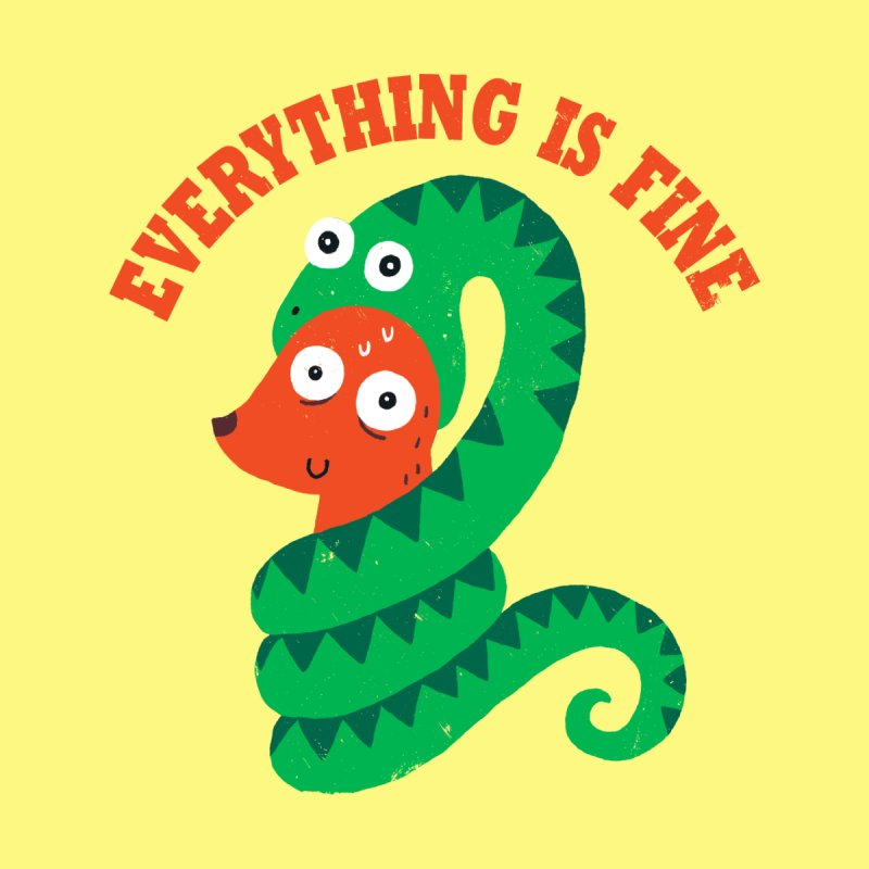 Everything Is Fine Men's T-Shirt by Threadless Artist Shop