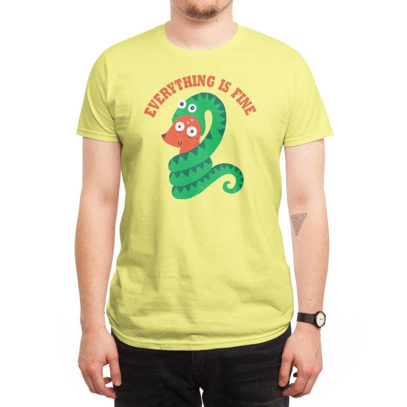 Everything Is Fine Men's T-Shirt by Threadless Artist Shop