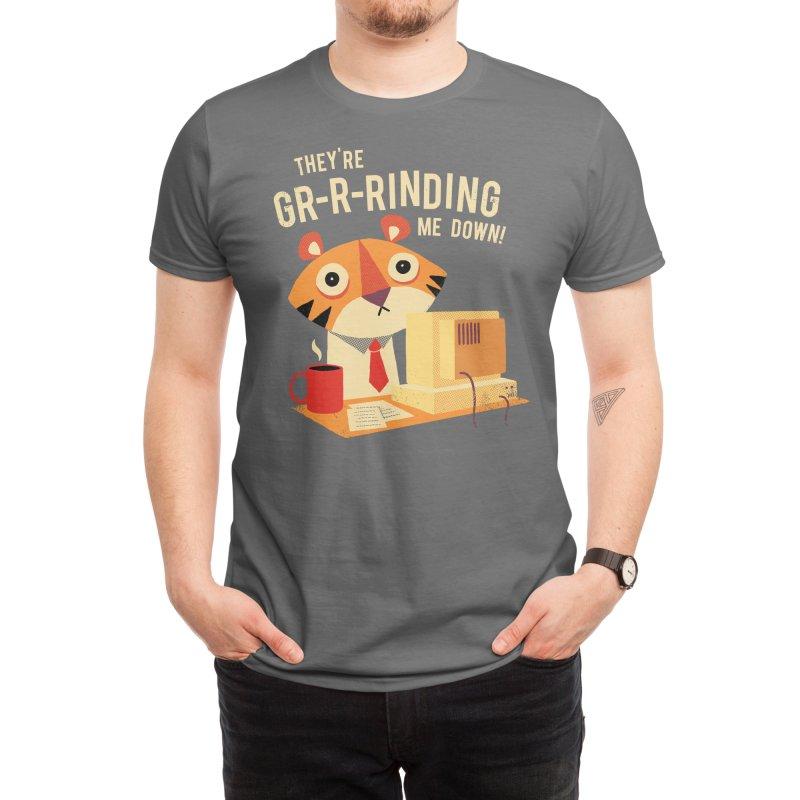 GR-R-Rinding Me Down Men's T-Shirt by Threadless Artist Shop