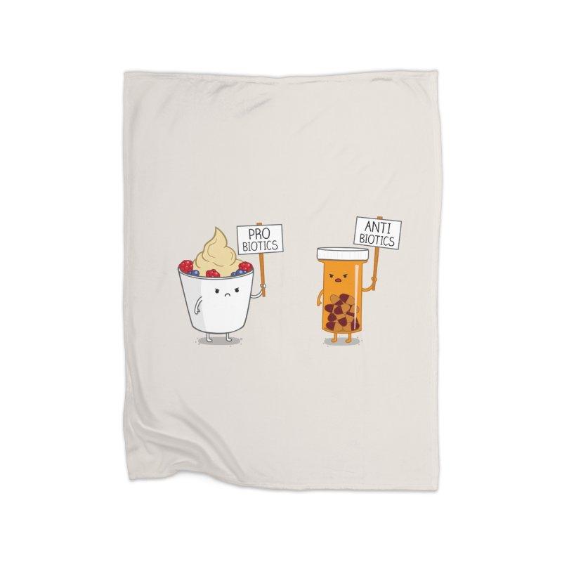My Gut, My Choice Home Blanket by Threadless Artist Shop