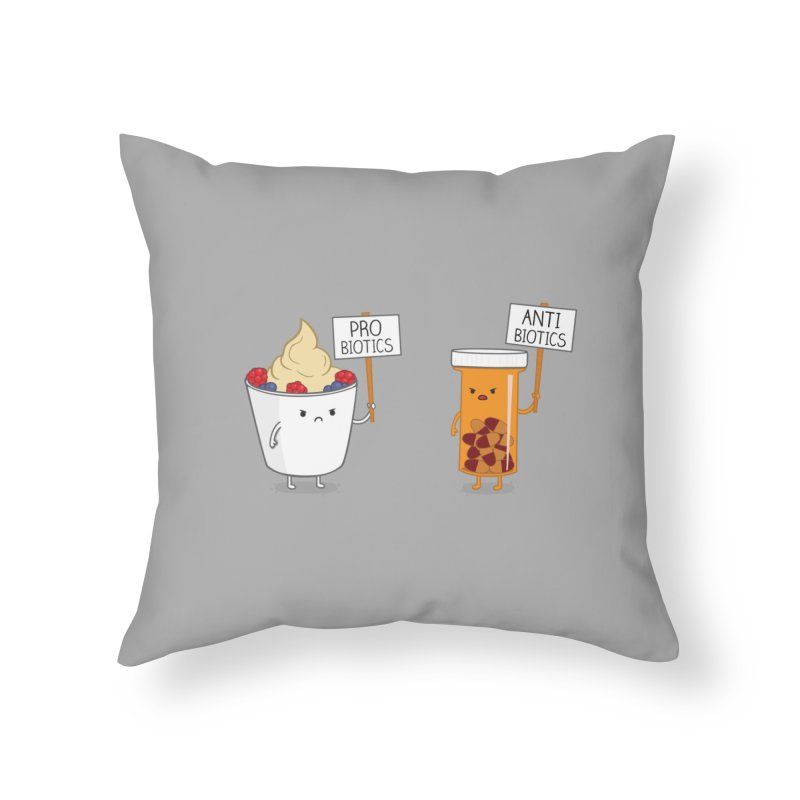 My Gut, My Choice Home Throw Pillow by Threadless Artist Shop