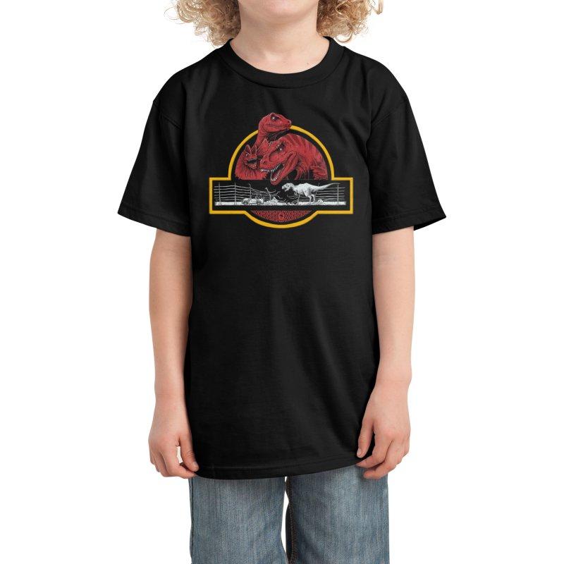 PALEONTOLOGICAL ADVENTURE Kids T-Shirt by Threadless Artist Shop