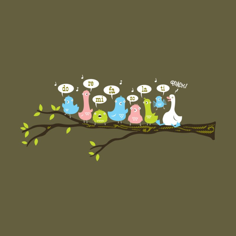 Do-Re-Mi-Quack! Men's T-Shirt by Threadless Artist Shop