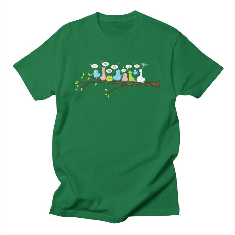 Do-Re-Mi-Quack! Women's T-Shirt by Threadless Artist Shop